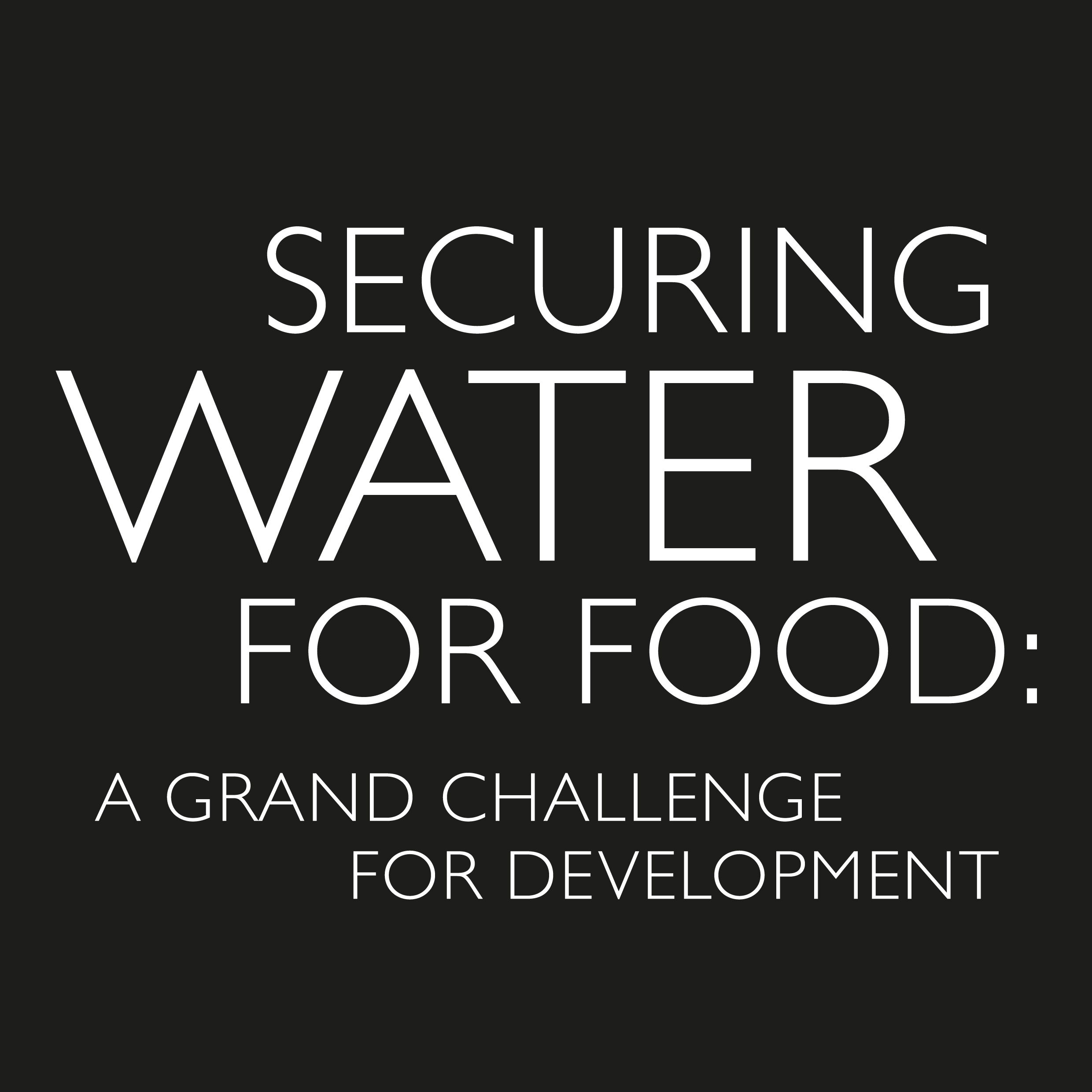 Water And Energy For Food Grand